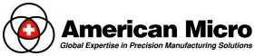 American Micro Global Expertise in Precision Manufacturing Solutions Logo